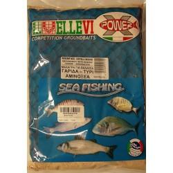 Groundbait  Ellevi Shrimp/Cheese/Acids 1Kg