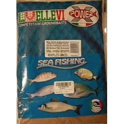 Groundbait Ellevi Shrimp/Sprat/Fishflour/Acids 1Kg