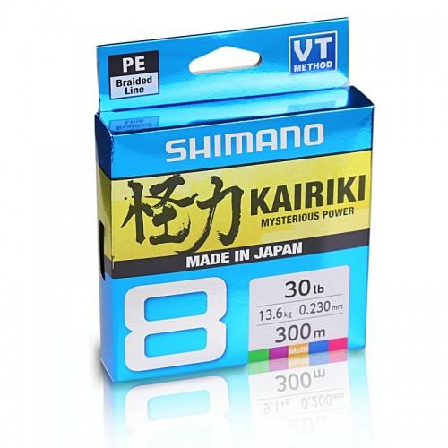 Braid Shimano KAIRIKI 8X 150m Multicolor