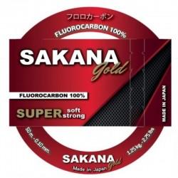 Sakana Gold Fluorocarbon Line 50m