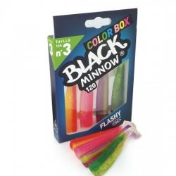 Color Box Fiish Black Minnow Νο 3-120